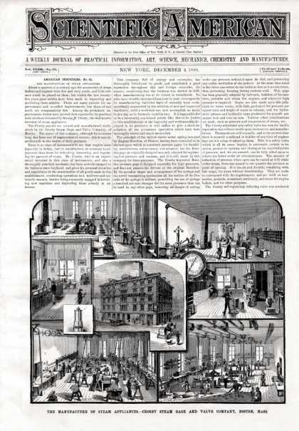 Scientific American - 1880-12-04