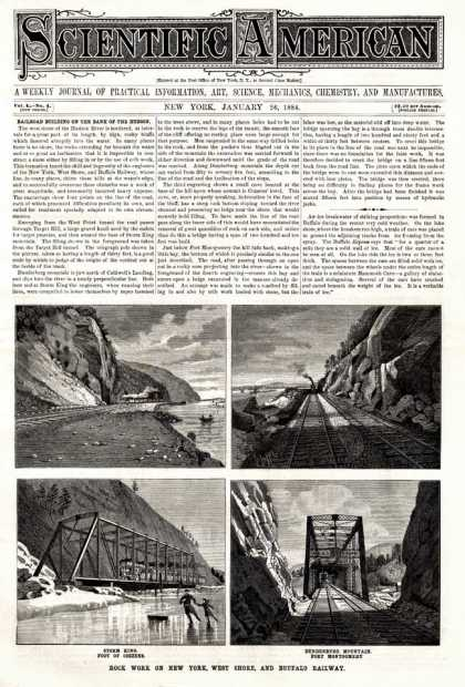 Scientific American - 1884-01-26