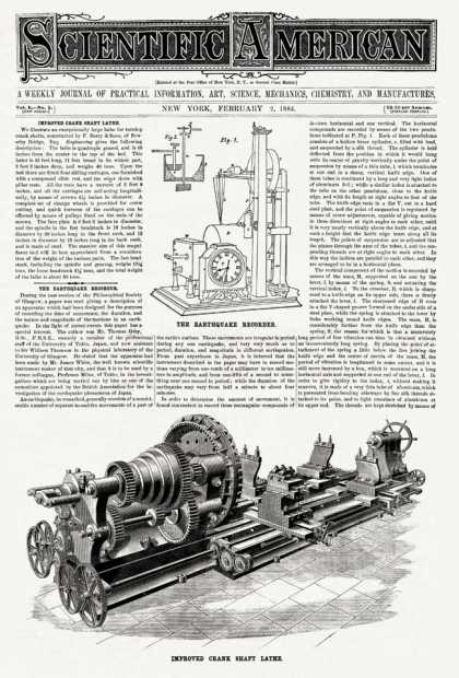 Scientific American - 1884-02-02