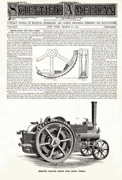 Scientific American - 1884-03-29