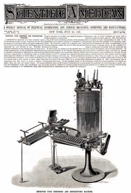 Scientific American - 1887-07-23