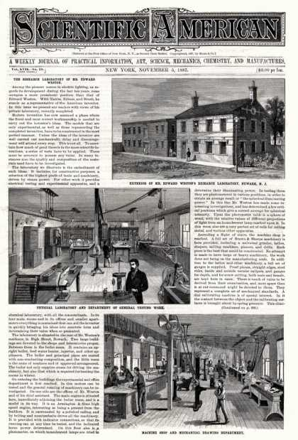 Scientific American - 1887-11-05