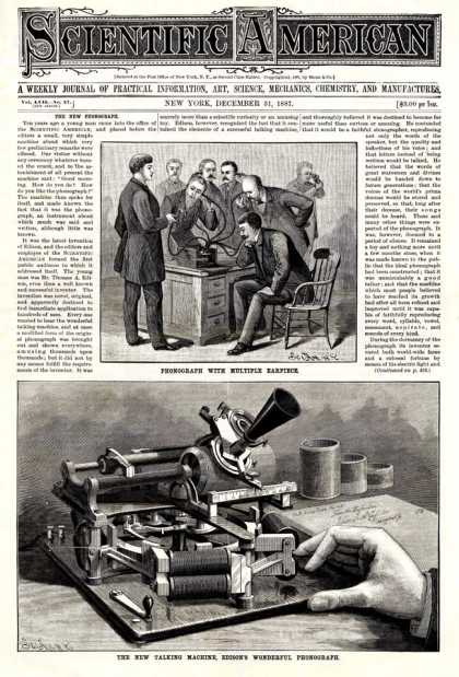 Scientific American - 1887-12-31