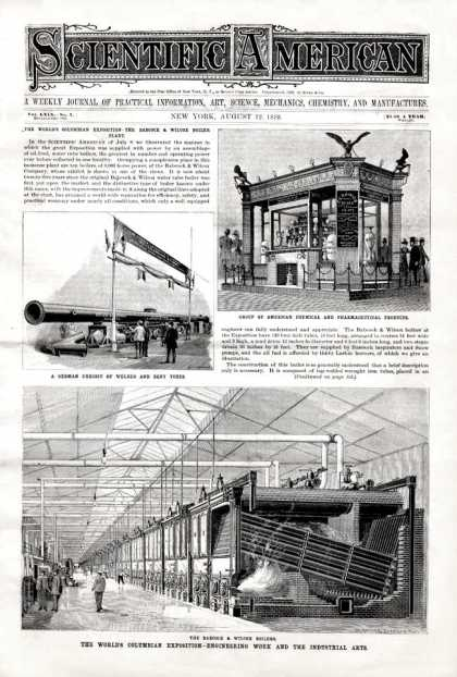 Scientific American - 1893-08-12