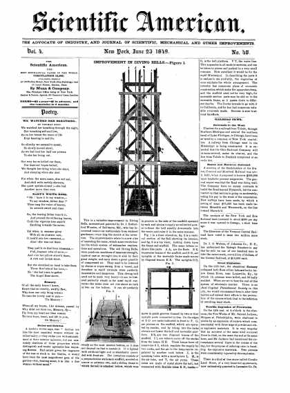 Scientific American - June 23, 1849 (vol. 4, #40)