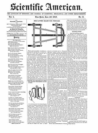 Scientific American - June 30, 1849 (vol. 4, #41)