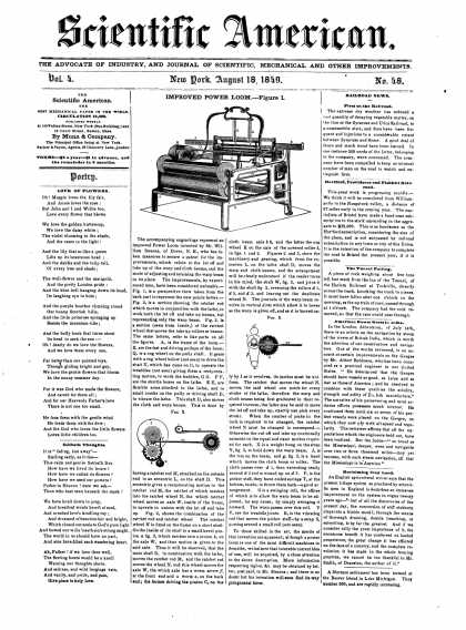 Scientific American - August 18, 1849 (vol. 4, #48)