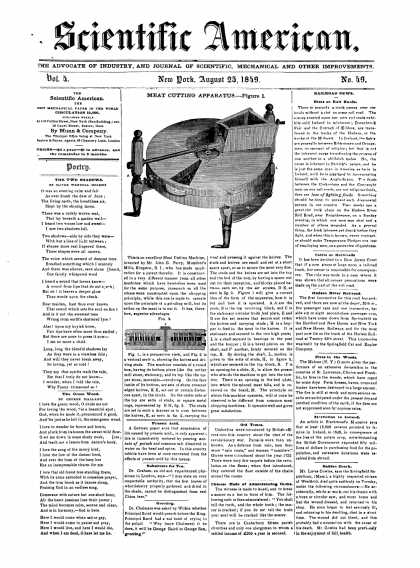 Scientific American - August 25, 1849 (vol. 4, #49)