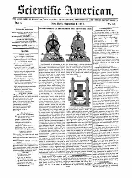 Scientific American - September 1, 1849 (vol. 4, #50)
