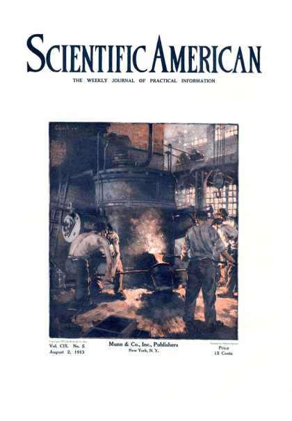 Scientific American - 1913-08-02