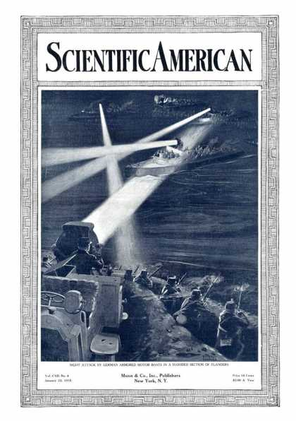 Scientific American - 1915-01-23
