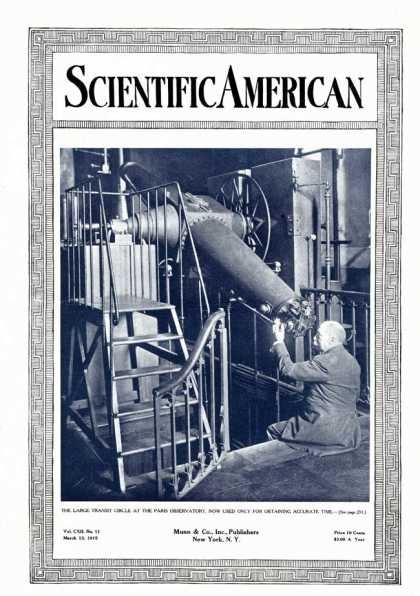 Scientific American - 1915-03-13