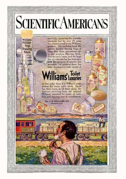 Scientific American - 1915-06-05 Back-Cover Ad