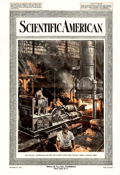 Scientific American - 1917-11-17