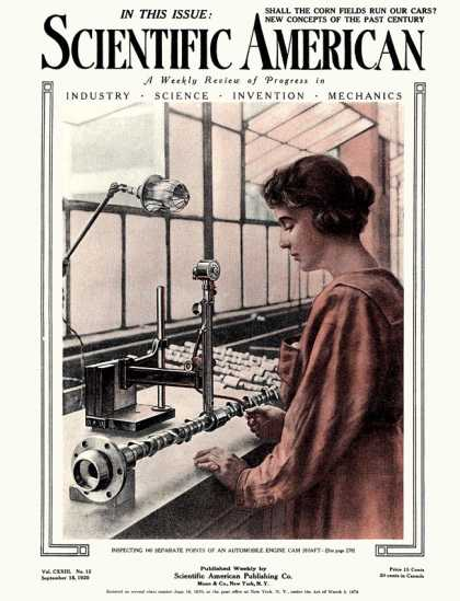 Scientific American - 1920-09-18