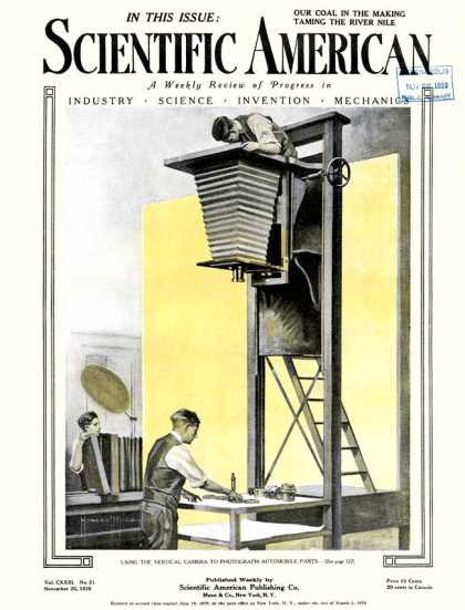 Scientific American - 1920-11-20