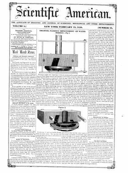 Scientific American - February 23, 1850 (vol. 5, #23)