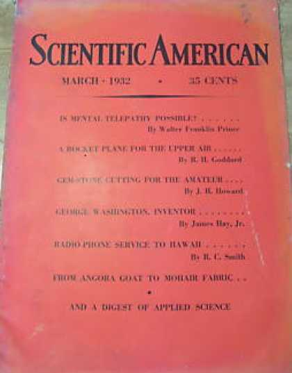 Scientific American - March 1932