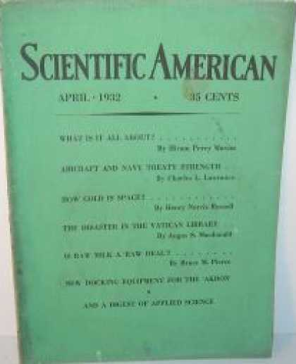 Scientific American - April 1932