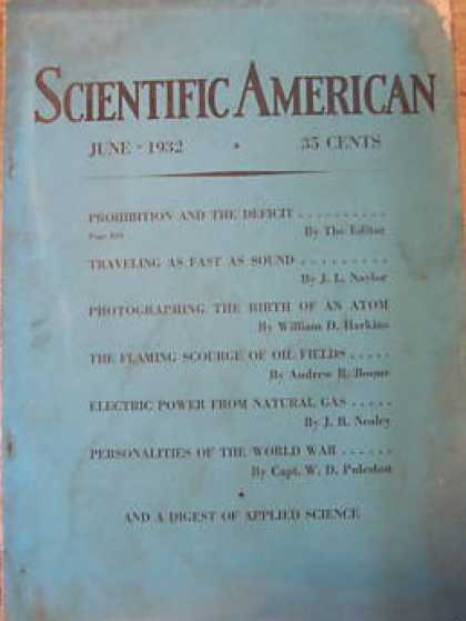 Scientific American - June 1932