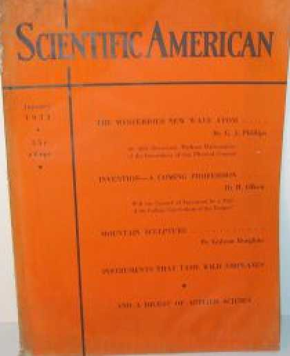Scientific American - January 1933