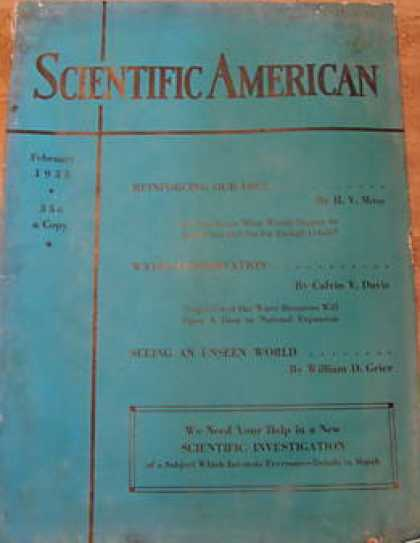 Scientific American - February 1933