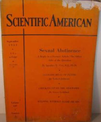Scientific American - September 1933
