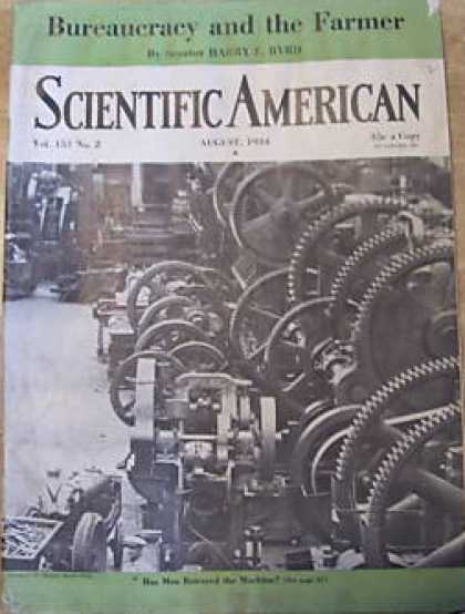 Scientific American - August 1934