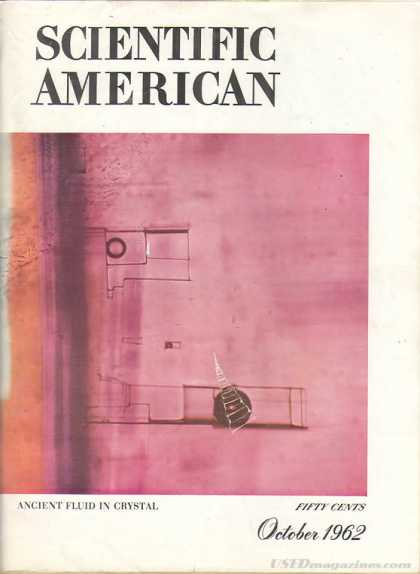 Scientific American - October 1962