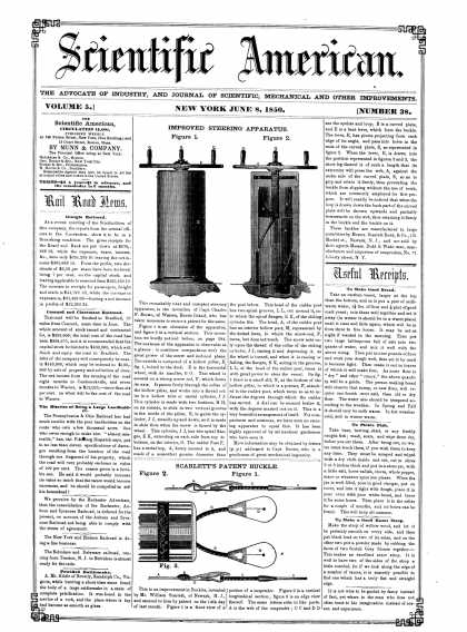 Scientific American - June 8, 1850 (vol. 5, #38)