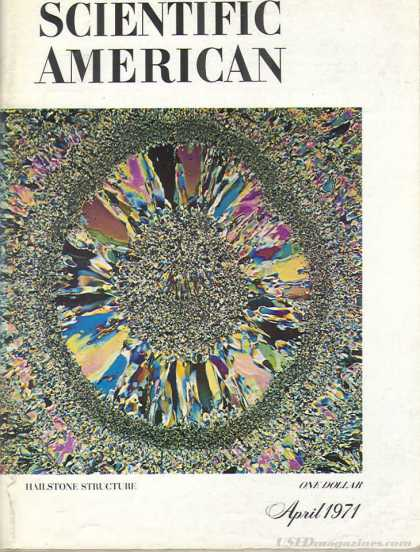 Scientific American - April 1971