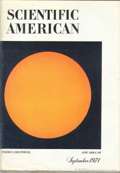 Scientific American - September 1971