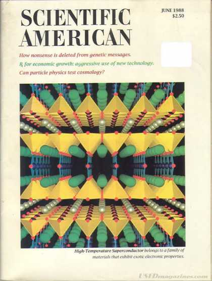 Scientific American - June 1988