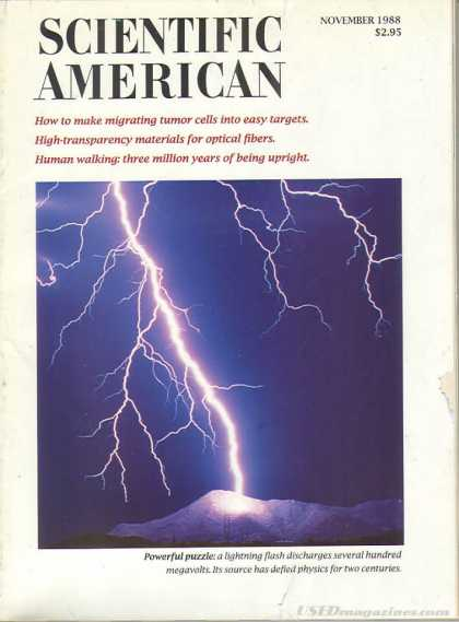Scientific American - November 1988