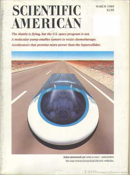 Scientific American - March 1989