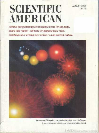 Scientific American - August 1989