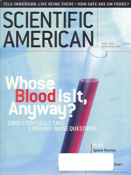 Scientific American - April 2001