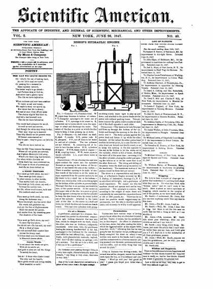 Scientific American - June 26, 1847 (vol. 2, #40)
