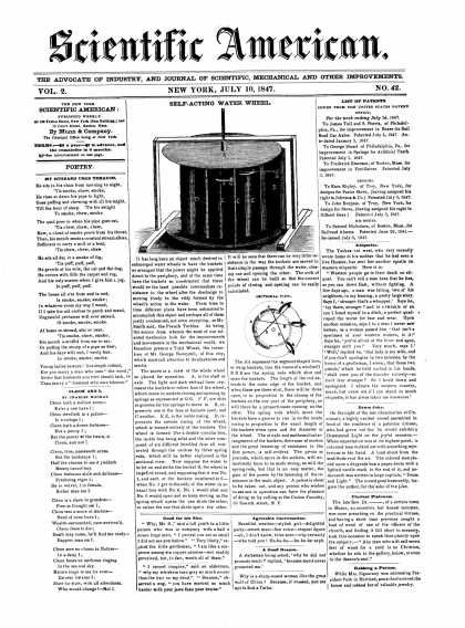 Scientific American - July 10, 1847 (vol. 2, #42)
