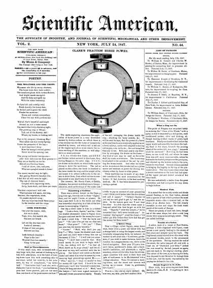 Scientific American - July 24, 1847 (vol. 2, #44)