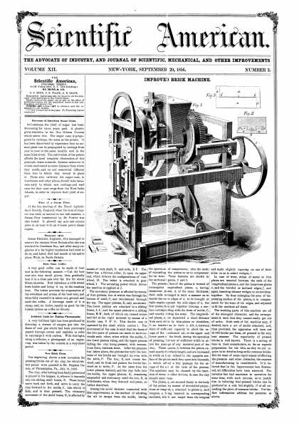 Scientific American - Sept 20, 1856 (vol. 12, #2)