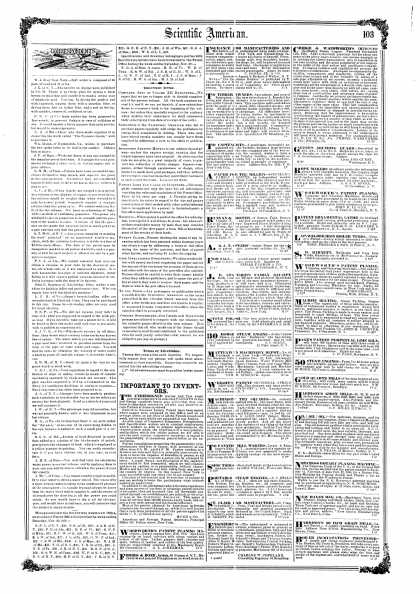 Scientific American - Dec 13, 1856 (vol. 12, #14)