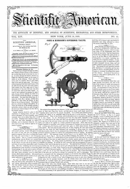 Scientific American - June 18, 1859 (vol. 14, #41)