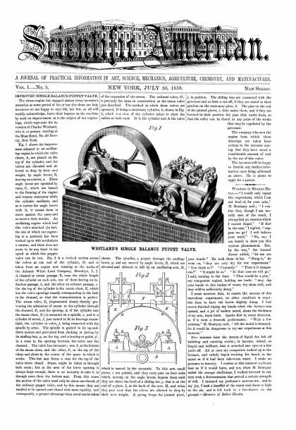 Scientific American - July 30, 1859 (vol. 1, #5)
