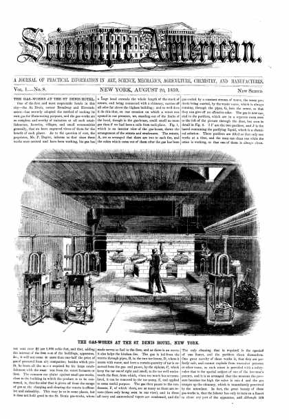 Scientific American - Aug 20, 1859 (vol. 1, #8)
