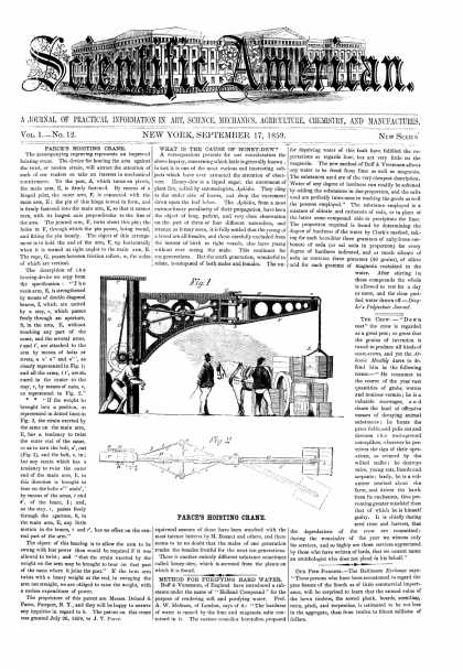 Scientific American - Sept 17, 1859 (vol. 1, #12)