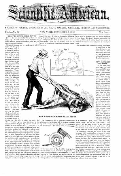 Scientific American - Dec 3, 1859 (vol. 1, #23)