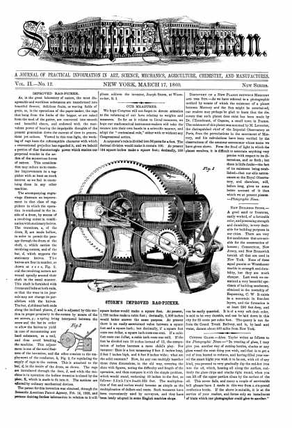 Scientific American - Mar 17, 1860 (vol. 2, #12)