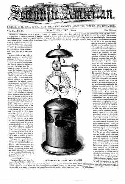 Scientific American - June 2, 1860 (vol. 2, #23)