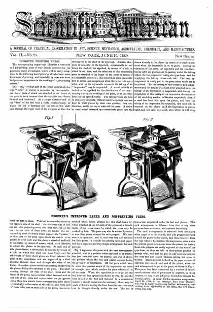 Scientific American - June 16, 1860 (vol. 2, #25)